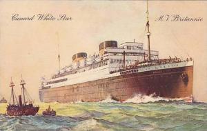 Cunard White Line, M.V. Britannic,  00-10s