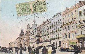 Belgium Oostende La Digue 1911