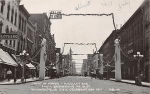 E54/ Minneapolis Minnesota RPPC Postcard 1911 Civic Celebration Stpres