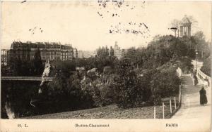 CPA PARIS 19e Buttes -Chaumont (302365)