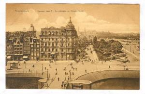 Amsterdam , Netherlands , 00-10s : Damrak hoek Pr. Hendrikkade en Victoria Hotel