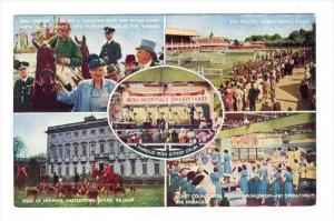 Famous Irish Sweepstakes, PU-1959 5-view postcard