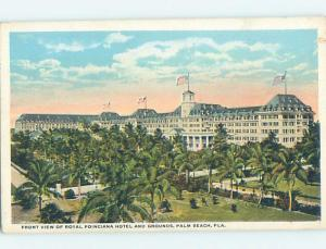 W-Border HOTEL SCENE Palm Beach - West Florida FL B3038