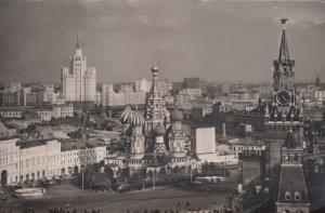 RP; MOSCOW, Russia; Vire from Kremlin Wall, PU-1960