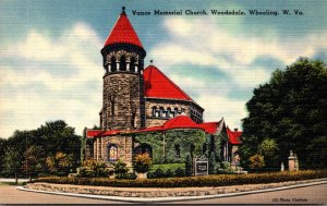 West Virginia Wheeling Vance Memorial Church Woodsdale