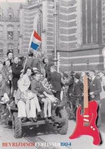 Bevrijdings Dutch WW2 Liberation Music Festival 1994 Postcard