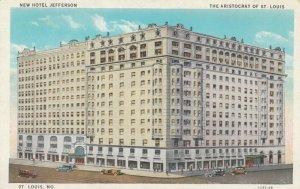 ST. LOUIS  , Missouri , 1900-10s ; New Hotel Jefferson