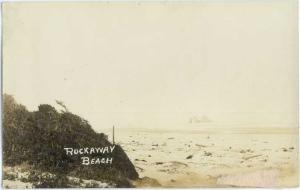 RPPC of View of Rockaway Beach Oregon OR 1915