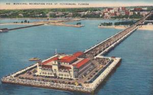 Florida Saint Petersburg Municipal Recration Pier