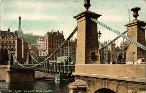 CPA LYON Le Pont de la Feuillee (462199)