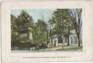South Entrance Prospect Park Brooklyn NY 1910