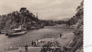 RP; The S.S. Sir Walter Scott at Trossachs Pier, Loch Katrine, 00-10s