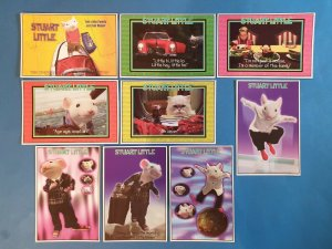 FULL Set of 9 STUART LITTLE Postcards (Series 1) 42Z