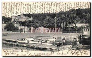 Old Postcard Tamaris Sur Mer Coat