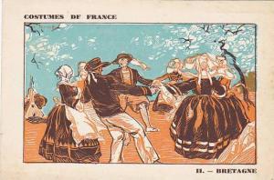 II. - Bretagne, Costumes de France, 10-20s