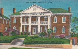 BEAVER FALLS , Pennsylvania , 30-40s ; Elks Building