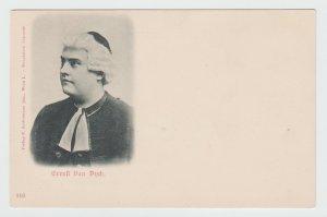 Gruss aus Wien 1897 Ernest van Dyck Vienna Austria Original Vintage Postcard