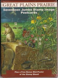 Great Plains Prairie - Post Card Set - Mint