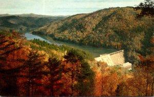 Georgia Lake Tugalo Dam