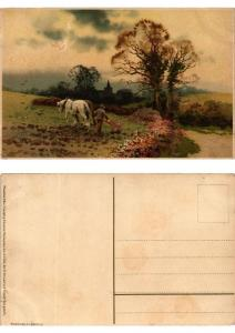 CPA Der Ernte Last und Freude Meissner & Buch Litho Serie 1522 (730542)
