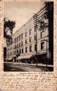 Massachusetts Malden Auditorium 1908