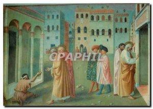 Postcard Modern Firenze Chiesa del Carmine Healing the cripples and resurecti...