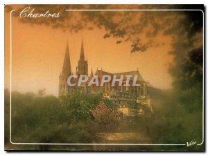 Postcard Modern Wonders of Chartres Eure et Loir the Cathedral XII century