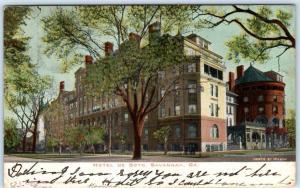 SAVANNAH, Georgia  GA   Early View  HOTEL DE SOTO   1906    Postcard