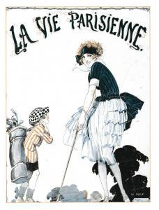 Post Card Le Golf France LA VIE PARISIENNE KK 120 Les Parisiennes Karizzma Enter