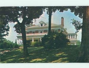 Pre-1980 PRESIDENTS HOME AT WILLIAM JEWELL COLLEGE Liberty Missouri MO L9108