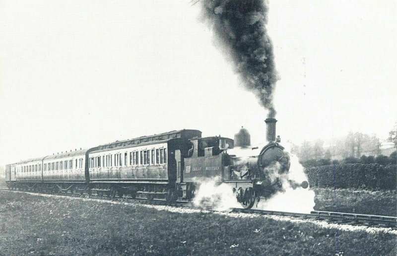 Nostalgia Postcard 1920s GWR The Up Stopper, Barnstaple, Devon, Repro Card NS5