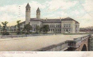 PITTSBURGH , Pennsylvania , 1908 ; Carnegie Library