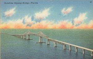 Postcard Sunshine Skyway Bridge Florida