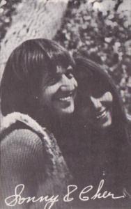 Vintage Arcade Card Sonny & Cher