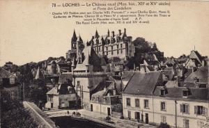 Le Chateau Royal Et Porte Des Cordeliers, LOCHES (Indre Et Loire), France, 19...