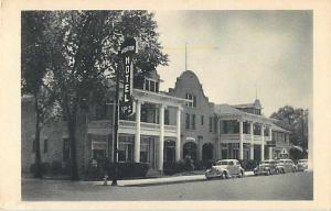 Hotel Norton Roswell New Mexico NM White Border Postcard