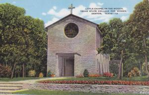 Little-Chapel, Texas State College for Women,  Denton, Texas, 30-40s