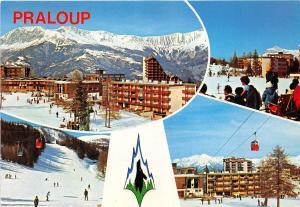 BR4479 Alpes de Haute Provence Praloup Ski et Soleil   france