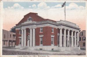 WINCHESTER , Virginia , PU-1923; Post Office