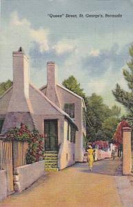 Queen Street,  St. George´s, Bermuda, PU-1949
