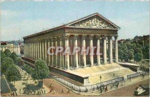 Modern Postcard Paris Church of the Madeleine