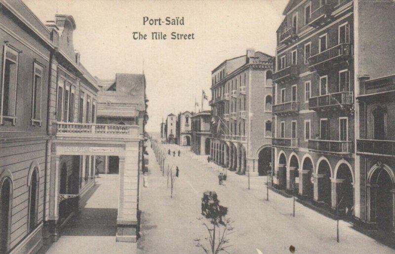 PORT SAID , Egypt , 00-10s ; The Nile Street