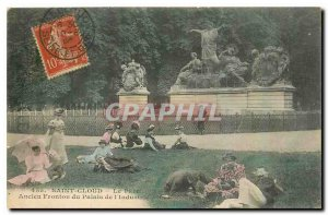 Postcard Old Saint Cloud Park Old Pediment of the Palace of Industry