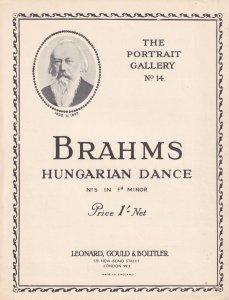 Brahms Hungarian Dance 5 Classical Sheet Music