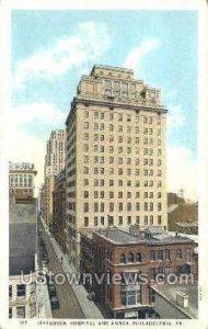 Jefferson Hospital & Annex - Philadelphia, Pennsylvania