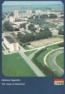 Elektrenia Lithuania Power Station Industry Aerial Postcard
