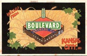 Missouri Kansas City Hello From Boulevard Brewing Company