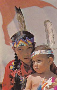 Canada Indian Children Of The Stony Tribe