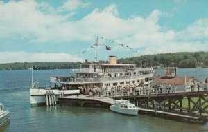M/V Mount Washington, Docked at WEIRS BEACH , New Hampshire , 50-60s