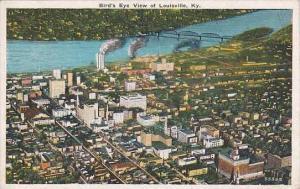 Kentucky Louisville Birds Eye View Of Louisville